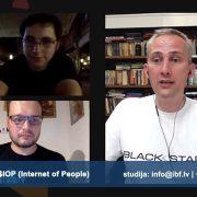 Viegla piektdienas vakara saruna ar Ingus Levins (Vācija un Austrija) - Internet of People