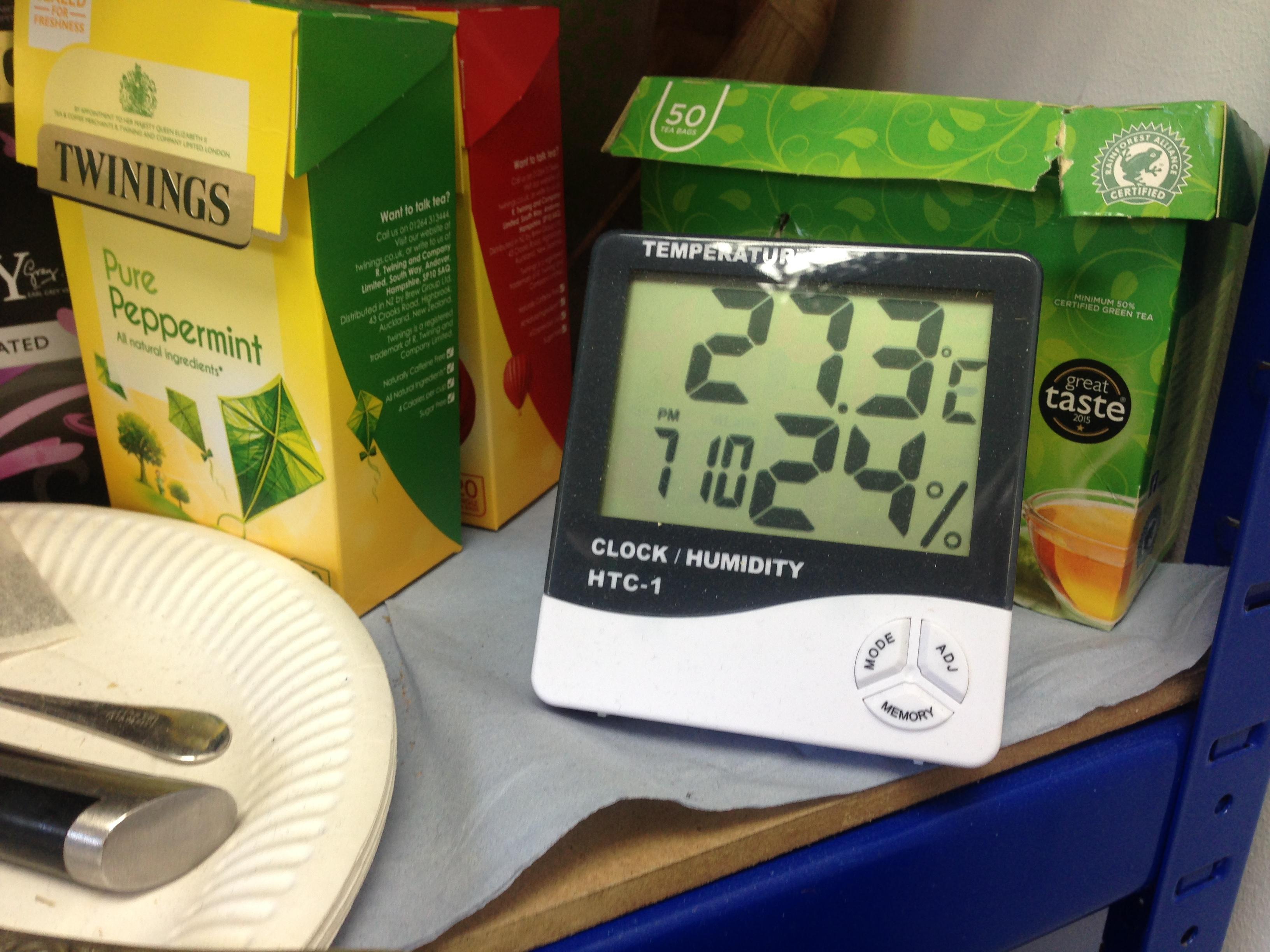 temperatūra normalizēta